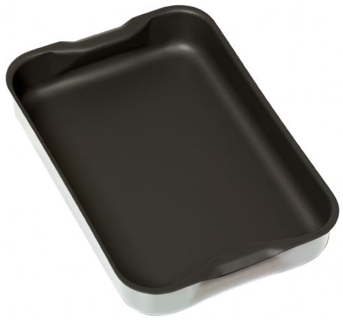 Samuel Groves 1.6mm Aluminium Non Stick Roasting Dish - With Integral Handles